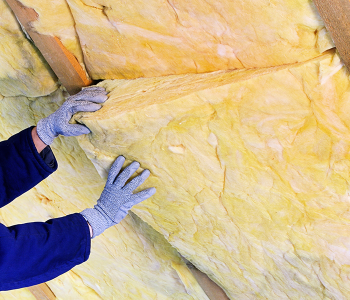 We can install insulation into your roof - saving you money on heating and cooling bills.